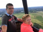 Adembenemende luchtballonvaart opgestegen in Enschede zaterdag  4 augustus 2018