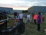 Overweldigende heteluchtballonvaart gestart op opstijglocatie Enschede zaterdag  4 augustus 2018