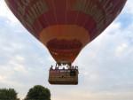 Jaloersmakende heteluchtballonvaart in de buurt van Maastricht zaterdag 4 augustus 2018