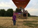Uitmuntende ballonvlucht gestart op opstijglocatie Maastricht zaterdag 4 augustus 2018