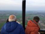 Adembenemende luchtballonvaart in de omgeving Eindhoven op zaterdag 6 april 2019