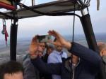 Verbluffende heteluchtballonvaart opgestegen op opstijglocatie Eindhoven op zaterdag 6 april 2019