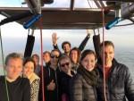 Ultieme luchtballon vaart opgestegen op startlocatie Hoogland op zaterdag  6 oktober 2018