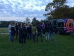 Ongeëvenaarde ballonvaart startlocatie Hoogland op zaterdag  6 oktober 2018