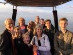 Perfecte ballon vaart startlocatie Hoogland op zaterdag  6 oktober 2018