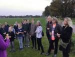 Indrukwekkende ballon vlucht in de buurt van Hoogland op zaterdag  6 oktober 2018