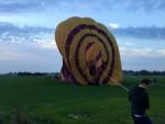 Weergaloze luchtballonvaart vanaf startlocatie Hoogland op zaterdag  6 oktober 2018