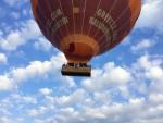 Bijzondere ballon vaart in Hoogland op zaterdag  6 oktober 2018