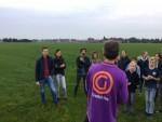 Verrassende ballon vaart in Hoogland op zaterdag  6 oktober 2018