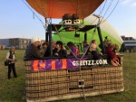 Super ballon vaart regio Gorinchem op zaterdag  6 oktober 2018