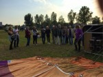 Majestueuze luchtballonvaart startlocatie Gorinchem op zaterdag  6 oktober 2018