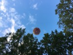 Majestueuze ballon vlucht gestart op opstijglocatie Gorinchem op zaterdag 6 oktober 2018