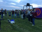 Uitmuntende ballonvlucht opgestegen op startveld Gorinchem op zaterdag  6 oktober 2018