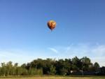 Plezierige ballon vlucht vanaf opstijglocatie Venray op zaterdag 6 oktober 2018