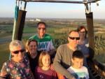 Hoogstaande heteluchtballonvaart in Venray op zaterdag 6 oktober 2018