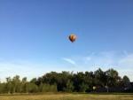 Feestelijke ballon vlucht vanaf startlocatie Venray op zaterdag 6 oktober 2018