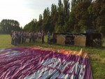 Fascinerende ballonvlucht in de buurt van Beesd zaterdag  7 juli 2018