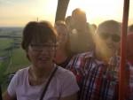 Waanzinnige luchtballon vaart in de omgeving Beesd zaterdag  7 juli 2018