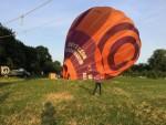 Te gekke luchtballonvaart in de regio Beesd zaterdag  7 juli 2018