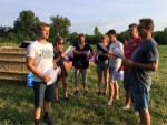 Prettige ballon vaart gestart op opstijglocatie Beesd zaterdag  7 juli 2018