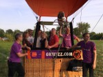Ongekende ballonvaart in de regio Beesd zaterdag  7 juli 2018