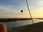 Mooie heteluchtballonvaart vanaf opstijglocatie Beesd zaterdag  7 juli 2018