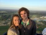 Uitmuntende heteluchtballonvaart in de regio Enschede zaterdag  7 juli 2018