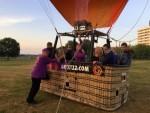 Super ballonvaart opgestegen op startveld Maastricht zaterdag 7 juli 2018