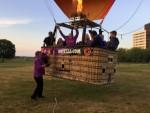Perfecte heteluchtballonvaart vanaf opstijglocatie Maastricht zaterdag 7 juli 2018