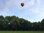 Comfortabele luchtballonvaart omgeving Sittard zaterdag  7 juli 2018