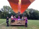 Majestueuze ballonvlucht vanaf opstijglocatie Sittard zaterdag  7 juli 2018