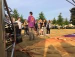 Waanzinnige ballon vaart boven de regio Uden zaterdag 7 juli 2018