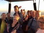 Unieke luchtballon vaart vanaf startlocatie Zwolle zaterdag 7 juli 2018