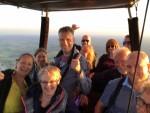 Prachtige luchtballonvaart omgeving Zwolle zaterdag 7 juli 2018