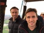 Verrassende luchtballon vaart gestart op opstijglocatie Beesd op zaterdag  8 september 2018