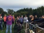 Super luchtballon vaart vanaf startlocatie Beesd op zaterdag  8 september 2018