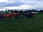 Weergaloze ballonvaart in de buurt van Beesd op zaterdag  8 september 2018