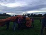 Te gekke ballon vaart in de omgeving van Beesd op zaterdag  8 september 2018