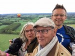 Uitzonderlijke luchtballon vaart in de buurt van Beesd op zaterdag  8 september 2018