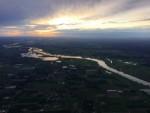 Buitengewone luchtballon vaart omgeving Beesd op zaterdag 8 september 2018