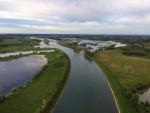 Perfecte ballonvlucht vanaf opstijglocatie Beesd op zaterdag  8 september 2018