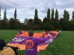 Ongeëvenaarde ballon vlucht gestart in Beesd op zaterdag  8 september 2018