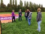 Perfecte ballonvlucht opgestegen in Beesd op zaterdag  8 september 2018