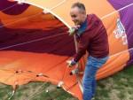 Fantastische luchtballon vaart opgestegen op startlocatie Oss op zaterdag  8 september 2018