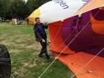Prettige ballon vaart startlocatie Oss op zaterdag  8 september 2018