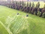Professionele ballonvlucht opgestegen op startlocatie Beesd zaterdag  9 juni 2018