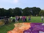 Mooie heteluchtballonvaart vanaf startlocatie Eindhoven zaterdag 9 juni 2018