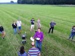 Fantastische luchtballon vaart vanaf startlocatie Eindhoven zaterdag 9 juni 2018