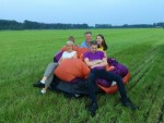 Verrassende luchtballonvaart vanaf opstijglocatie Oss zaterdag  9 juni 2018
