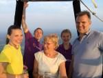 Comfortabele luchtballonvaart vanaf startlocatie Oss zaterdag 9 juni 2018